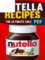 Nutella Recipes the Ultimate Collection