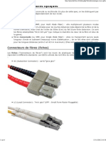 Connecteurs Fibre Optique
