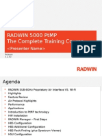 RADWIN 5000 PtMP Training Course