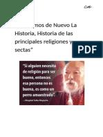 Revisemos de Nuevo La Historia-Por Camilo Navarro Rubí