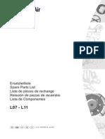 L07-L11 Parts Manual
