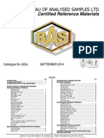 BAS Catalogue No. 822a - September 2014