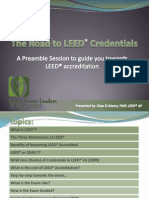 The Road to LEED Credentials