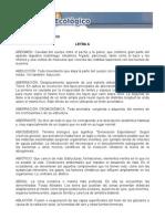 Diccionario Ecologico