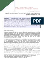 El derecho a la información ambiental