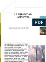 Impunidad ambiental