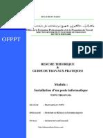 Installation PInstallation_poste_informatiqueoste Informatique