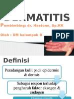 7. Dermatitis Klompok d
