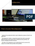Security Mis-Config Introduction
