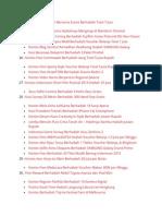 Daftar Info Kuis, Kontes, Undian Terbaru 2015 [UPDATE]