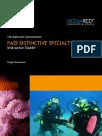 PADI INSTRUCTOR - Underwater Communication LR