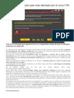 Colombia Es El Sexto Pais Mas Afectado Por El Virus CTB-Locker