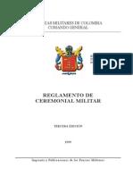 Regl. Ceremonial Militar