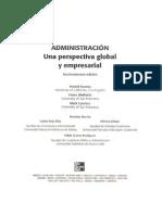 Administración Una Perspectiva Global y Empresarial