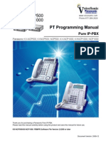 NCP Panasonic Digital Phone Programming Manual