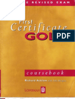 FCE Gold Course Book