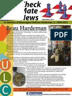 CheckMateNews 090115 Beau Hardeman Tribute