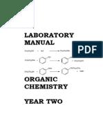 Organic 2 Lab Manual