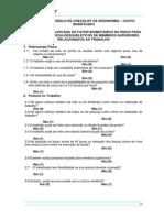 Chek List Ergonomia
