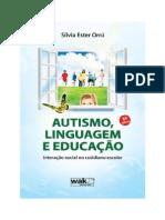 Livro - Autismo Linguagem Educação - Sílvia Ester Orrú