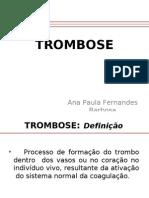 AULA 1 - Trombose
