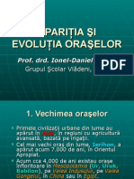 evolutiaoraselor
