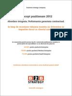 Concept Pozitionare 2012