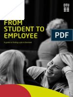 From student to employee