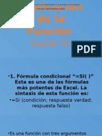 Explicación de La Función SI CONDICIONAL