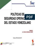 Bd71c001 - Políticas de Seguridad Operacional Del Estado Venezolano