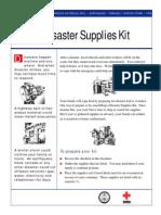 Family Disaster Kit