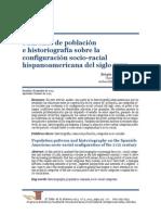 Padrones de Población e Historiografía