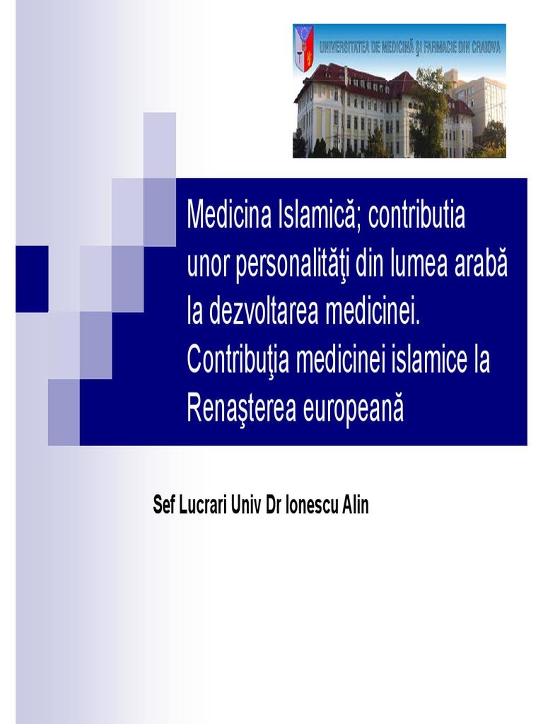 tratamentul medicinii islamice varicoză)