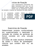 Exercícios de Fixação concentração das soluções.pptx