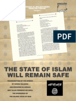 Syaikh Abu Muhammad Al-madani Speech of the Spokesman of the Islamic State of Iraq