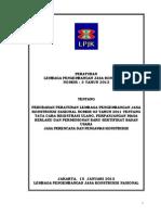 Perlem LPJK No 3 Tahun 2013 tentang SBU Konsultan Perencana dan Pengawas.pdf