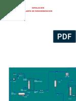 Simulacion Planta de Deshidratacion