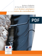 DGALN Plaquette Systemes Eau Pluie Batiment Aout 2009