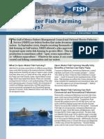 Open-Water Fish Farming in the Keys?