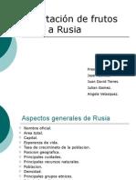 Importaciones e frutos secos por Rusia