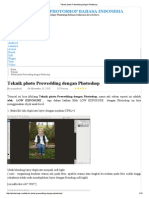 Teknik Photo Prewedding Dengan Photoshop
