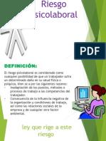 Riesgo Psicolaboral Diapositiva
