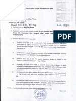 RTI applications on Wednesday, 6 August 2014 (Monday, 18 August 2014)