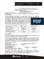 Propiedades Acero Chronit T-1 400 y Chronit T-1 500 Plancha Antidesgaste