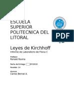6 Informe de Fisica C Leyes de Kirchhoff