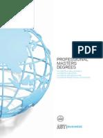 AUT ProMasters Brochure 2015