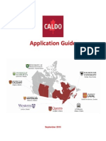 CALDO Application Guide