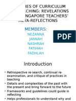 Realities of Curriculum and Teaching-singapore