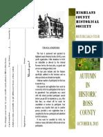 autumn 2015 tour brochure