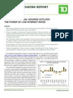 Canadian Regional Housing Outlook - August 2015